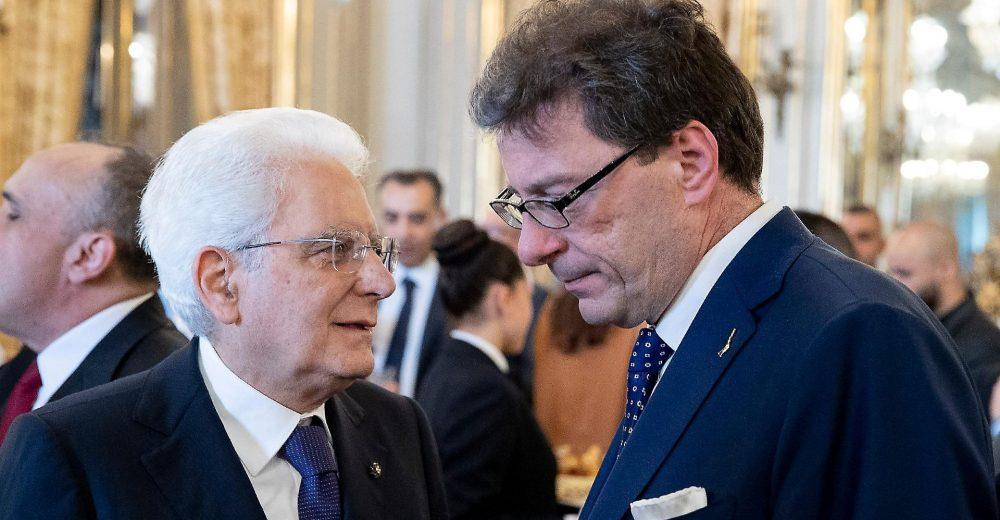 Giorgetti rinuncia a fare il commissario Ue