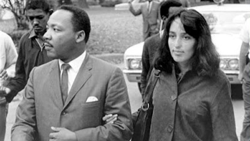 Martin Luther King Joan Baez