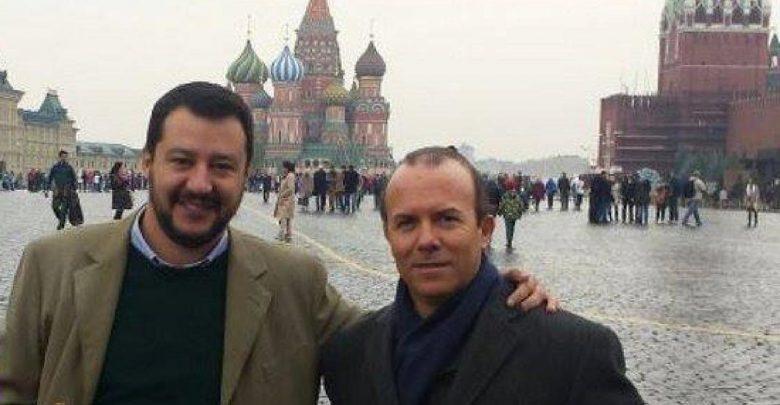 Matteo Salvini Gianluca Savoini