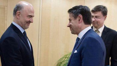 Procedura di infrazione Pierre Moscovici Giuseppe Conte
