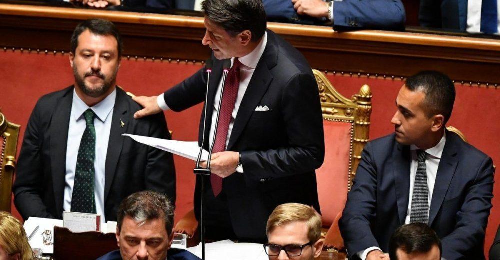 Conte «Il governo finisce qui ed è colpa di Salvini»
