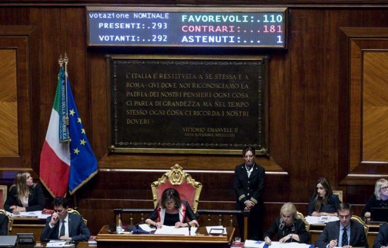 Il governo si spacca sulla Tav: no del Senato alla mozione del M5s