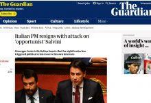 La fine del governo Conte sui giornali stranieri