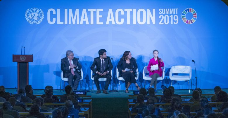 Photo of Climate Action Summit dell'Onu: 66 Paesi promettono emissioni zero entro il 2050