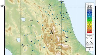 Il centro Italia trema ancora: scossa di magnitudo 4.1 tra Norcia e Arquata