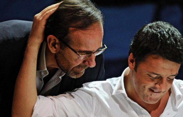 Italia Viva- Psi, Renzi e Nencini insieme al Senato