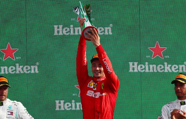 La Ferrari trionfa a Monza dopo nove anni con Leclerc