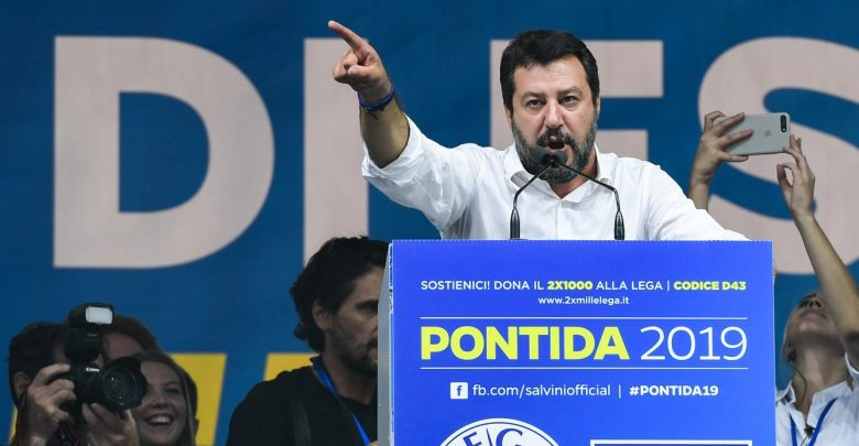 Photo of Salvini a Pontida: «Pronti a referendum se smontano il dl sicurezza»