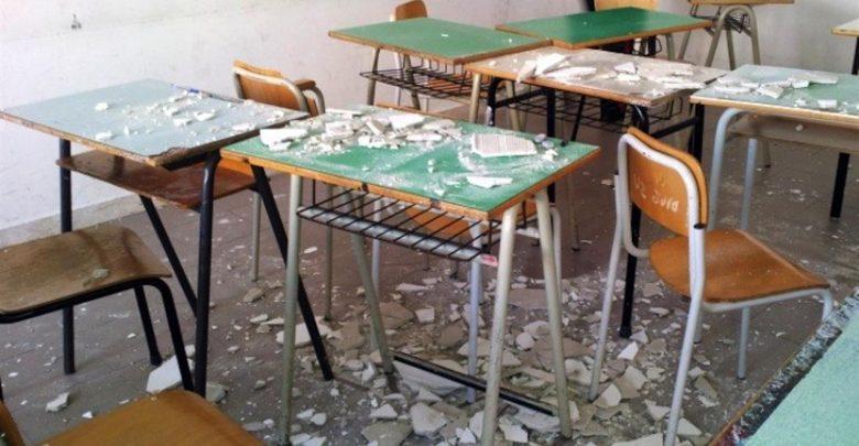 Photo of Scuola, allarme crolli: «Nel 2019 uno ogni tre giorni»