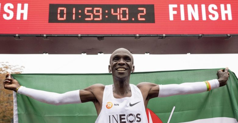 Photo of Chi è Eliud Kipchoge, l'atleta keniota che ha corso la maratona in meno di 2 ore