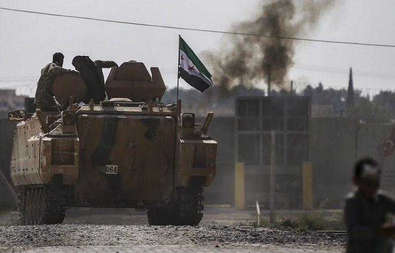 Conflitto in Siria, iniziato dalla città di Ras al-Ain il ritiro delle forze curde