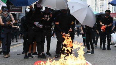 Photo of Hong Kong, violenti scontri nell'anniversario dei 70 anni della Repubblica cinese