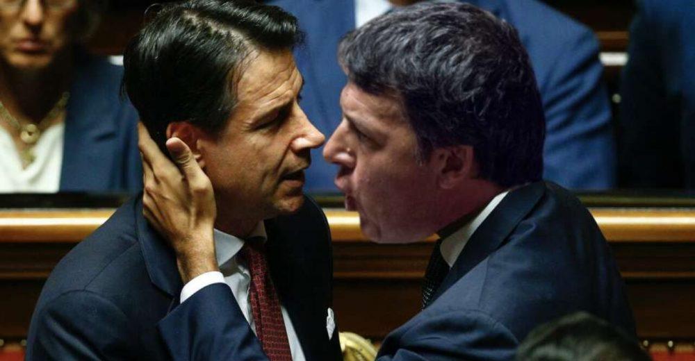 Il duello tra Renzi e Conte sul cuneo fiscale
