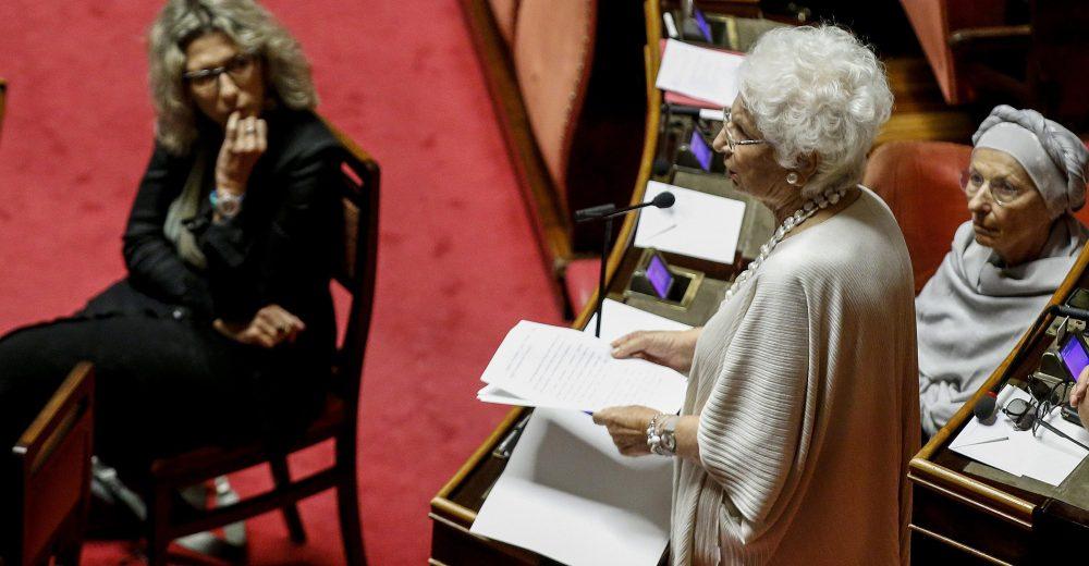 La commissione Segre contro razzismo e antisemitismo nasce senza i voti del centrodestra