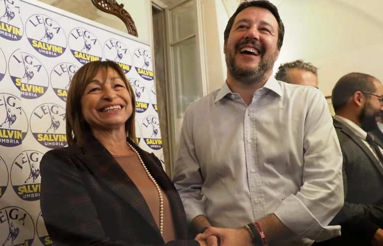 La rivincita di Salvini: in Umbria trionfa la candidata di centrodestra Tesei