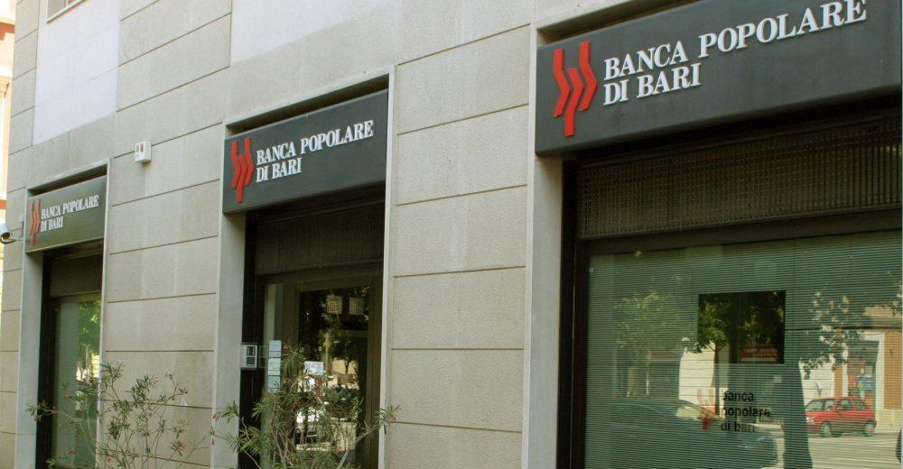Popolare di Bari: le misure del governo per salvare l'istituto bancario