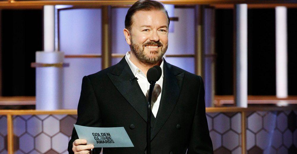 Come Ricky Gervais ha umiliato l'intero star system ai Golden Globes