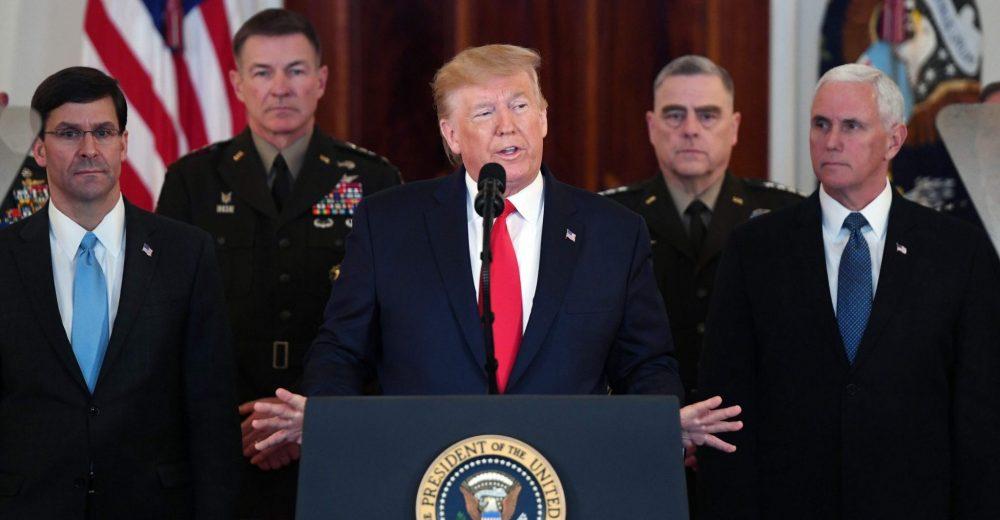 Trump è pronto per la pace con l'Iran