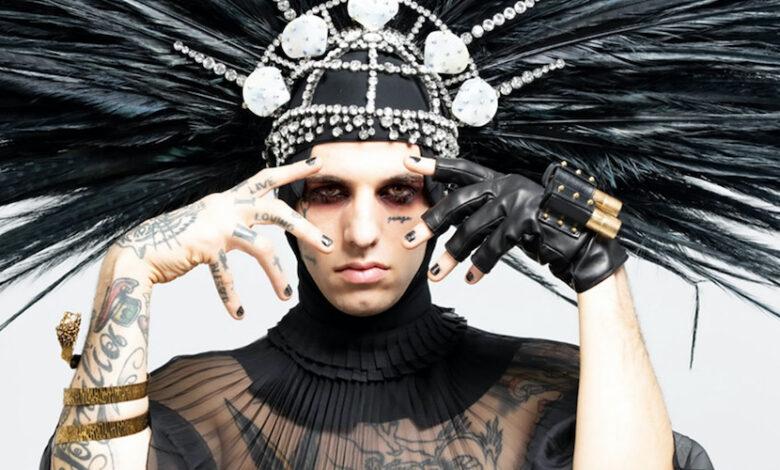 Photo of Achille Lauro diva al Festival
