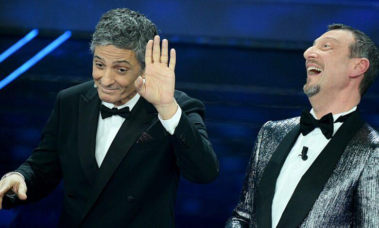 Photo of Amadeus: «Grazie del Fiore». Ma Fiorello: «Il Festival l'avrei fatto più corto»
