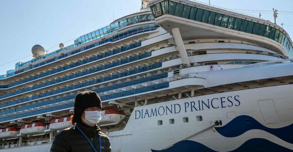 Coronavirus, positivo un italiano sulla Diamond Princess