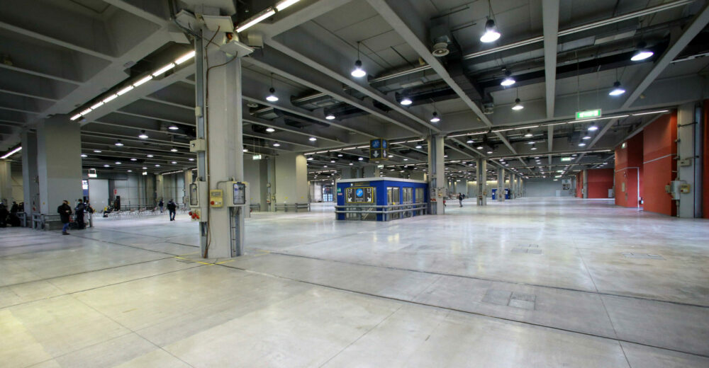 Come sarà l'ospedale in costruzione alla fiera di Milano
