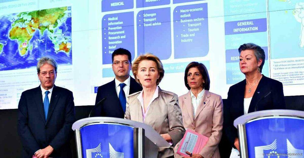 L'apertura dell'Ue: «Massima flessibilità su aiuti di Stato e patto di stabilità»