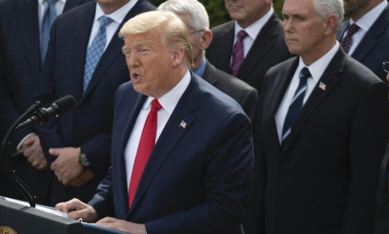 Photo of Trump dichiara l'emergenza nazionale: «Piano di 50 miliardi per fermare il coronavirus»