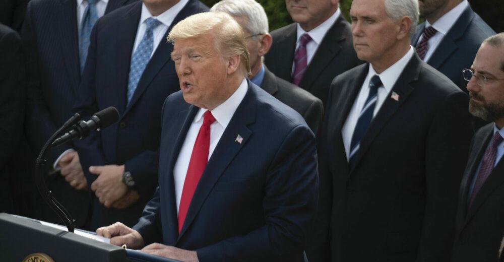 Trump dichiara l'emergenza nazionale: «Piano di 50 miliardi per fermare il coronavirus»