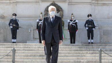 Photo of 25 aprile, il messaggio di Mattarella: «Rinasceremo come allora»