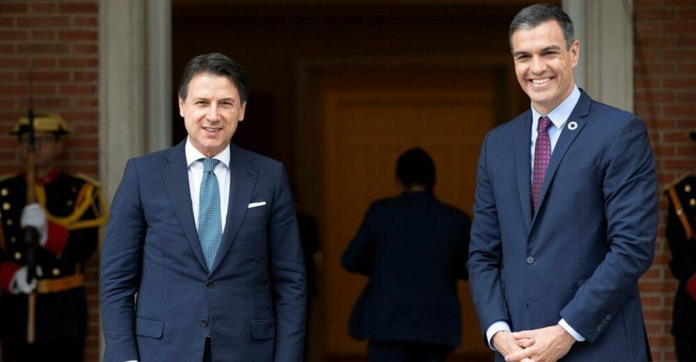Conte e Sanchez insistono sul Recovery Fund: «Si decida a luglio»