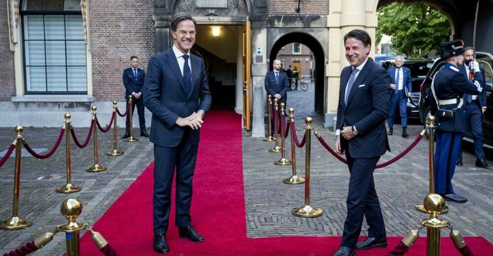 La posizione dell'Olanda al Consiglio europeo sul Recovery Fund