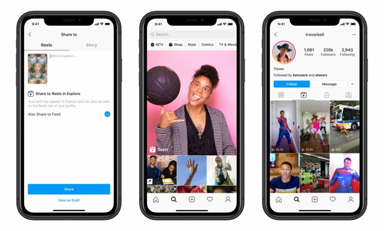 Photo of Instagram sfida TikTok: ecco cos'è e come funziona Reels