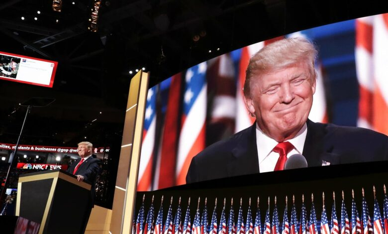 Photo of Usa 2020, Trump accetta la nomination: «La scelta è fra il sogno americano e il socialismo»