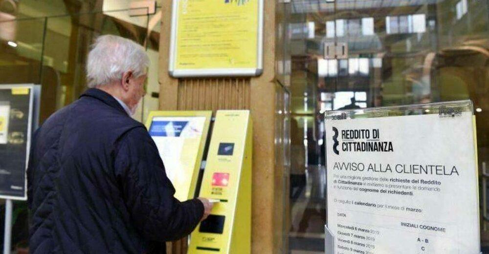 Reddito di cittadinanza: beneficiari in crescita del 25% nel 2020