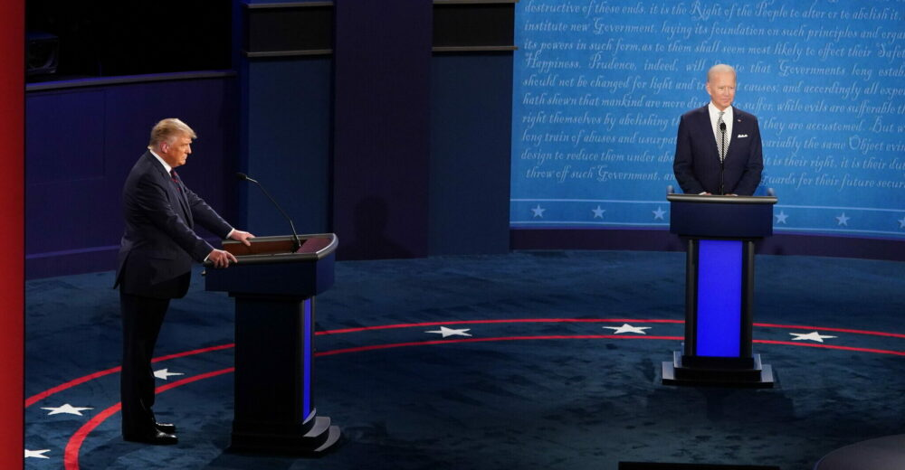 Usa 2020, Trump-Biden: primo dibattito presidenziale tra tensioni e insulti