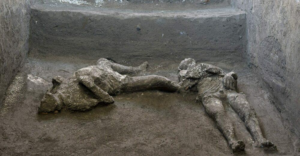 Il padrone e il suo schiavo, l'ultima fuga da Pompei