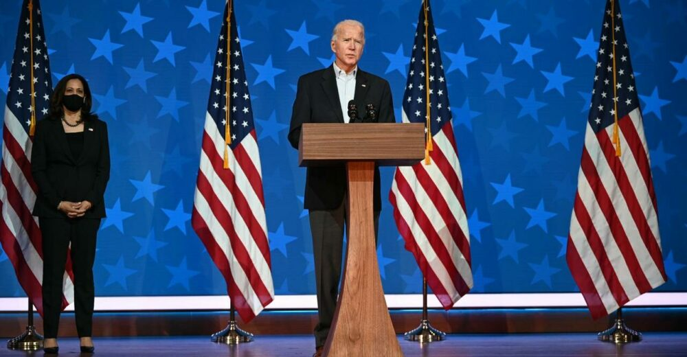 Joe Biden parla già da Presidente